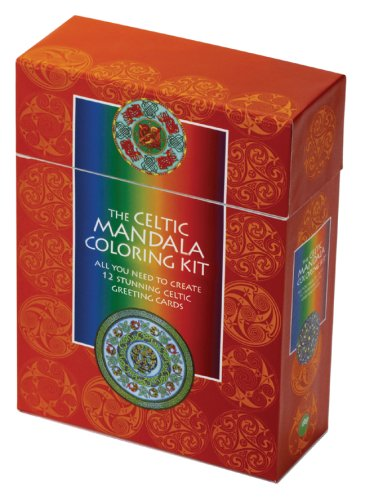 The Celtic Mandala Coloring Kit: All You Need to Create 12 Stunning Celtic Greeting Cards [With BookWith 12 Celtic Greeting CardsWith 12 EnvelopesWith (Wrap Entspannung)
