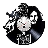 Game of Thrones Handmade Vinyl Record Wall Clock Fun gift Vintage Unique Home...
