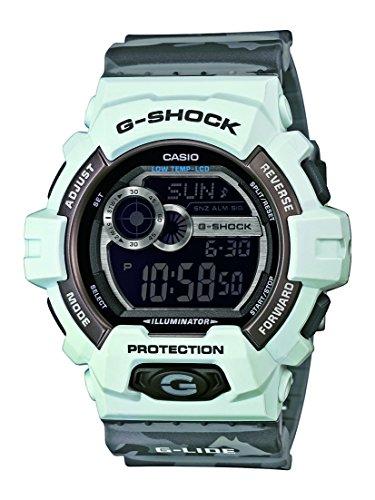G-Shock Herren-Armbanduhr XL G-Shock Digital Quarz Resin GLS-8900CM-8ER