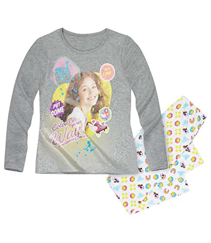 Disney-Soy-Luna-Chicas-Pijama-2016-Collection-Gris