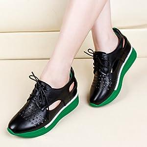 YTTY Kleine weiße Skate mit Anhänger von Moda für Damen mit Einer Schuh im Inneren der Schuhe von Cave Vuote