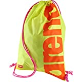 Arena Turnbeutel Fast Swimbag, Fluo Yellow/Orange, 45 x 36 x 2 cm, 8 Liter