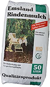 2x 50 l rindenmulch emsland garten pflanzen mulch amazon. Black Bedroom Furniture Sets. Home Design Ideas