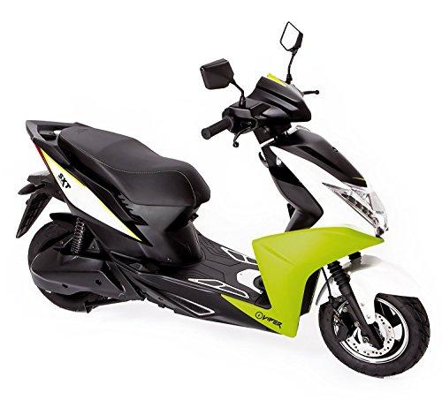 Preisvergleich Produktbild SXT Viper Elektroroller mit 2000W bürstenloser Nabenmotor,  45 kmh,  2 Sitzer - bis zu 60 km Reichweite