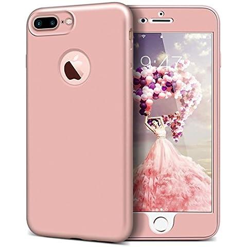 Yokata iPhone 7 Plus Hülle Vollschutz Handyhülle Handy Tasche Schale