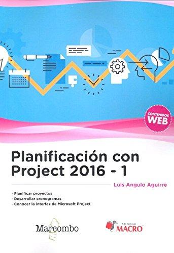 Libro Planificación con Project 2016