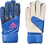 adidas Kinder ACE Fingersave Junior Torwarthandschuhe, Blue/Core Black/White/Shock Pink S16, 8