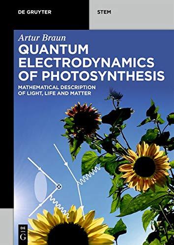 Quantum Electrodynamics of Photosynthesis: Mathematical Description of Light, Life and Matter (De Gruyter STEM)