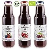Granatapfel-Mix 100% Bio-Direktsaft (naturtrüb) - 12 x 750 ml