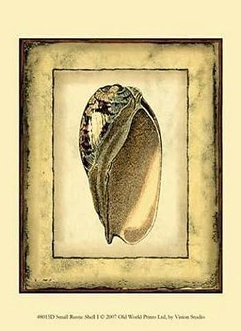 Small Rustic Shell I Fine Art Print (24.13 x 33.02 cm)