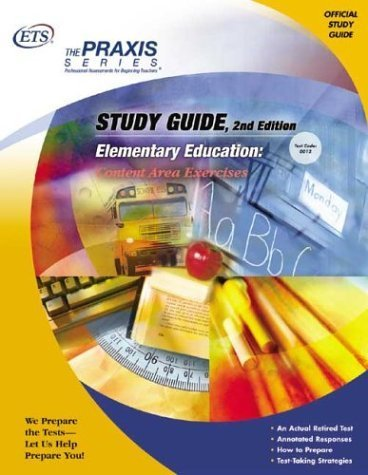 : Content Area Exercises (Praxis Study Guides) by Educational Testing Service (2004-09-01) ()