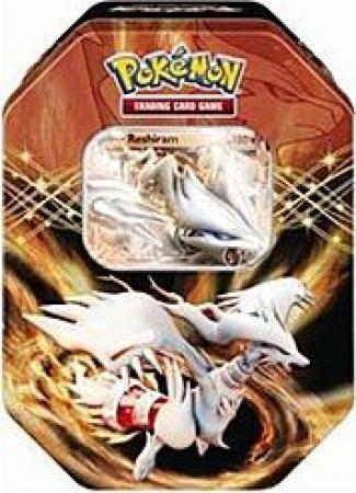 Pokemon Black White Card Game Spring 2012 Ex Collectors Tin Reshiram (Reshiram Tin Ex Pokemon)