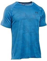 Under Armour Men's Tech Short Sleeve Tech Short Sleeve T-shirt, Blau Brilliant Blue Stealth Grey, Gr. XL