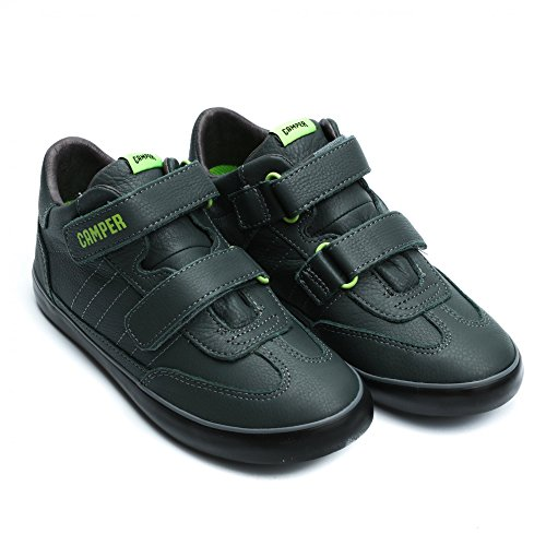 Camper Kids Pursuit Sella Sapiens Sneaker Dark Green