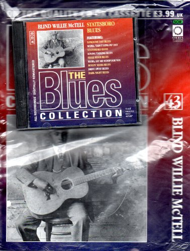 THE BLUES COLLECTION Magazine Issue 43 BLIND WILLIE McTELL &