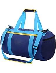 YSBER bolsa de natación gran capacidad seco húmedo separación bolsa de almacenamiento Premium impermeable bolsa(Dary Blue)