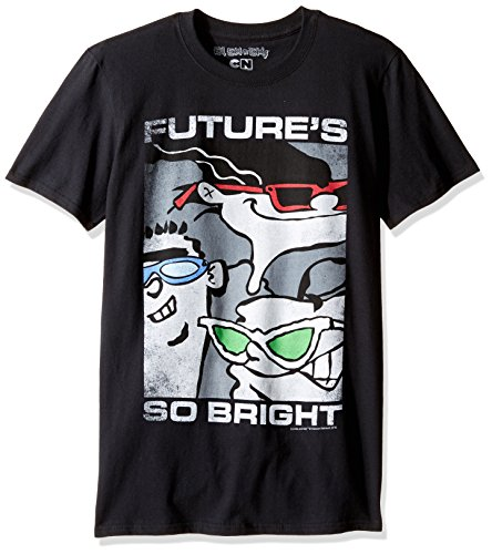 TLine Herren T-Shirt Ed, EDD N Eddy Future's So Bright Graphic - Schwarz - X-Groß