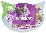 Whiskas Katzensnacks Knuspertaschen Vitamin E-xtra