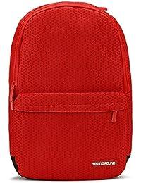 Preisvergleich für Sprayground - HEXAGON MESH CARGO (RED) Rucksack Tasche