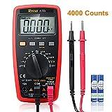 RAGU 81D Auto Ranging Digital Multimeter, AC/DC Voltage/Current Resistance Temperature Diode Continuity Measurement Tool, Electronic Test Meter / Measuring Instrument