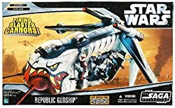 Star Wars Saga Collection Clone Wars Republic Gunship (As Seen On Cartoon Network)