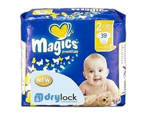 babies best Magics Premium 1.0 Windeln Gr.2 Mini 3-6 kg, 39 Windeln