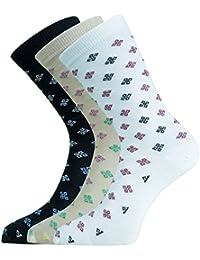 Montebello Women's Thumb Socks (Multi-Coloured, Set of 3)