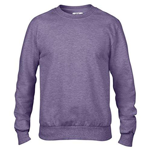 Anvil Herren Modern Sweatshirt Gr. Small, erikaviolett (Short Anvil Shirt Sleeve Polo)