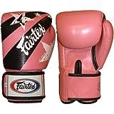 Fairtex Boxen Kickboxen Muay Thai Style Sparring Handschuhe Training Boxsack Pad, Unisex, pink/schwarz