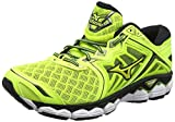 Mizuno Wave Sky, Scarpe da Running Uomo, Giallo Safety Yellow/Black, 43 EU