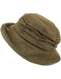 Amazon.it  cappello lana donna - Marrone   Cappelli e cappellini ... 222ac99f16b4