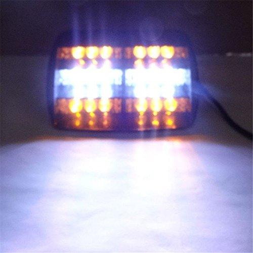 SHINA K02005 18LED DC12V 6W Feux auto Stroboscope Strobe Clignotant Flash d'urgence Alerte Pour Voiture Camion