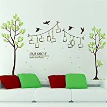 CHENOOXX Den Wald Rahmenwand Sofaecke Schlafzimmer Klassenzimmer Verschönerung herausnehmbare PVC-Postern dekoriert