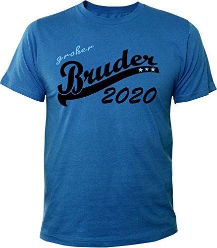 Mister Merchandise Herren Men T-Shirt Großer Bruder 2020 Tee Shirt bedruckt Royal