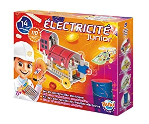 Buki France- Électricité Juego Electricidad Junior, Multicolor (7059)