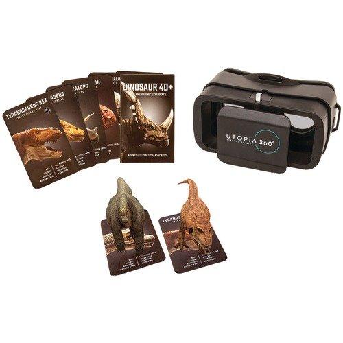 4d + Utopia 360° expérience de dinosaure Cartes et VR casque de réalité augmentée à partir de Retrak