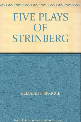 FIVE PLAYS OF STRINBERG