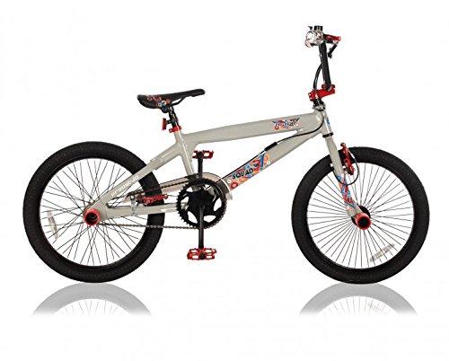 20 ZOLL Alu Aluminium BMX FAHRRAD RAD KINDERFAHRRAD 360° ROTOR Freestyle BIKE SQUAD GRAU