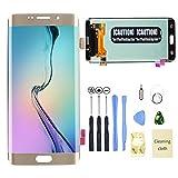 CALISTOUK LCD-Display Touchscreen Digitizer Rahmen Montage für Samsung Galaxy S6 Edge Plus Ersatz Werkzeug Kit
