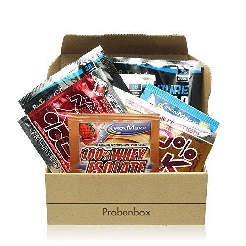 Protein Supplement Sample Box - 20 Proben diverser Hersteller