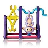 LandFox For Finger Monkey Giungla Swing Palestra Playset Interactive Bambino Scimmia arrampicata Altalena immagine