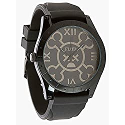 Flüd x Hex Murda Big Ben black Watch Uhr Montre BBNHX001 Armbanduhr Flud