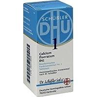 DHU Schüßler 1 Calcium fluoratum D12 Tabletten, 80 St. preisvergleich bei billige-tabletten.eu