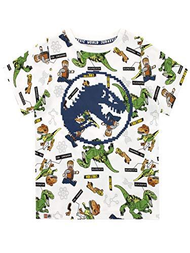 Mülltonnen-Spalier Rundhals T-Shirt,