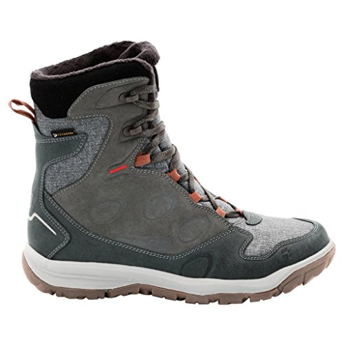 Jack Wolfskin Vancouver Texapore High chaussures d'hiver Pewter Grey