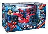 MTW Toys 20608 - Marvel Ultimate Spiderman - RC U-Command Motorrad, ferngesteuert