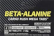 Olimp Sport Nutrition Beta Alanine Carno Rush Mega Tabs Mélange de Protéine 80 Comprimes