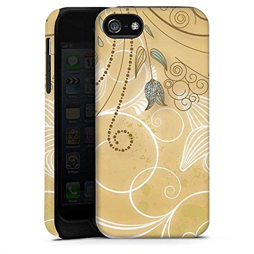 Apple iPhone X Silikon Hülle Case Schutzhülle Tulpe Pastell Floral Tough Case matt
