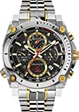 Supershop® New Bulova 98B228 Precisionist Chronograph Two Tone Stainless 300M Men