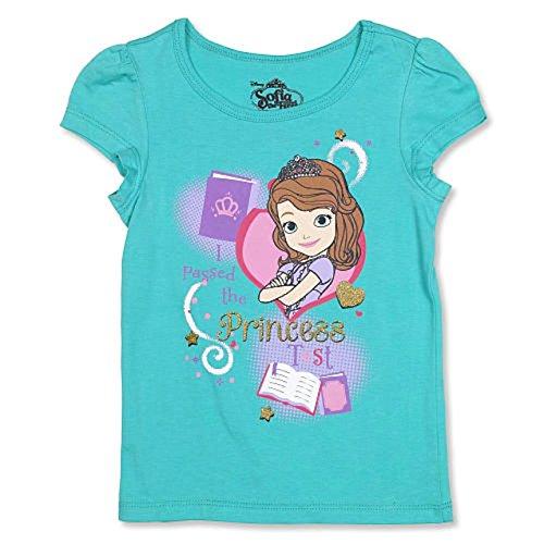 Sofia die erste, die ich die Prinzessin Test Kleinkind M?dchen T-Shirt (3T) ¨¹bergebenSofia die erste No Show Socken Box Set M?dchen Gr??e 6-8 1/2 Pink / lila (Test-kleinkind-t-shirt)